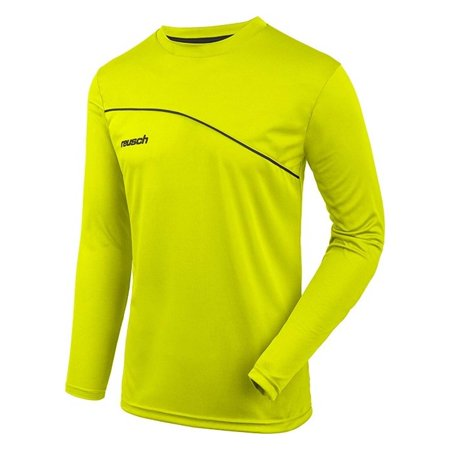 Reusch Adult Match Prime Padded Long Sleeve Goalie Jersey Neonyellow M