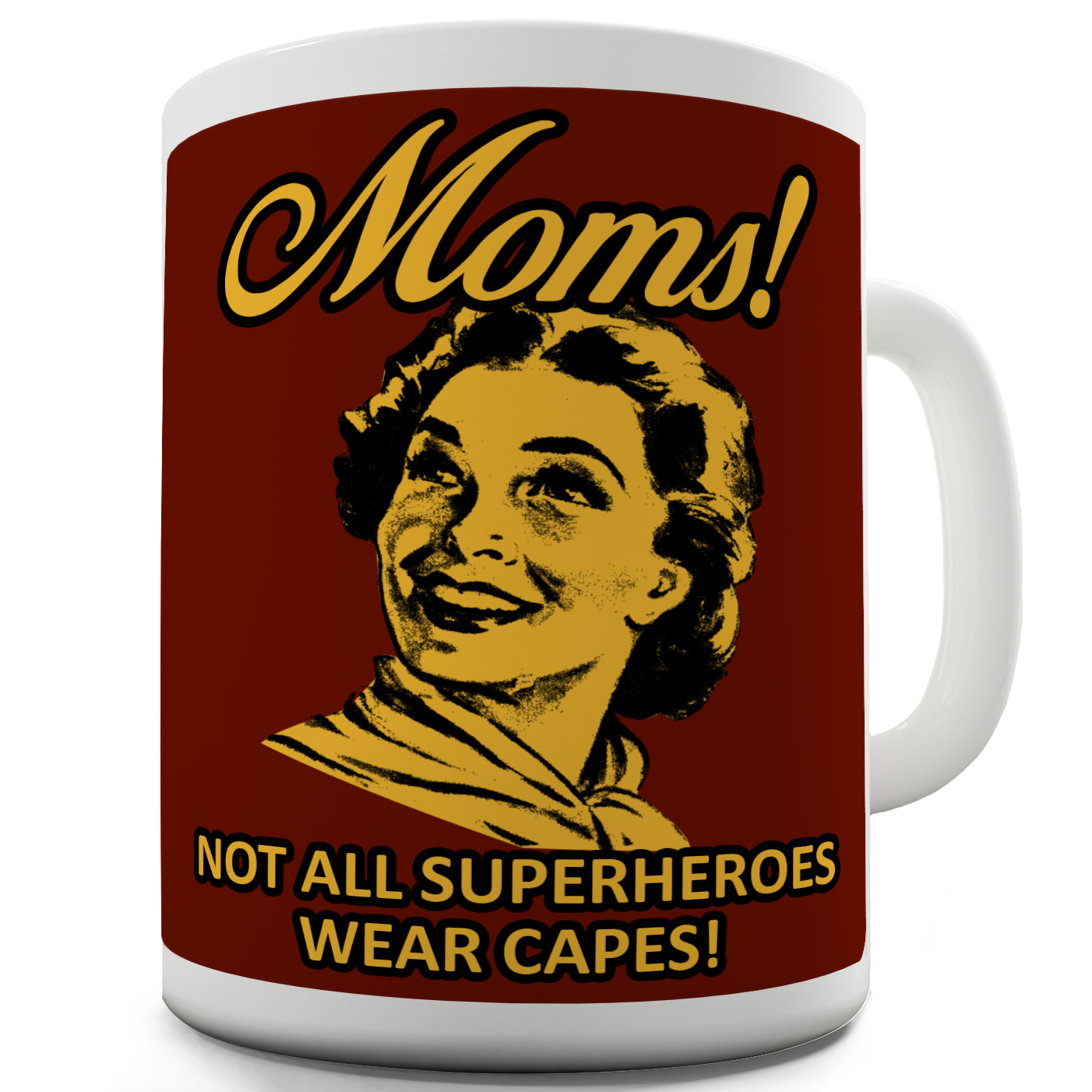 Funny Mugs For Work Superhero Mum's By 15 OZ