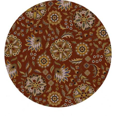 4 Nilofar Flower Clay Red Golden Yellow And Cream White