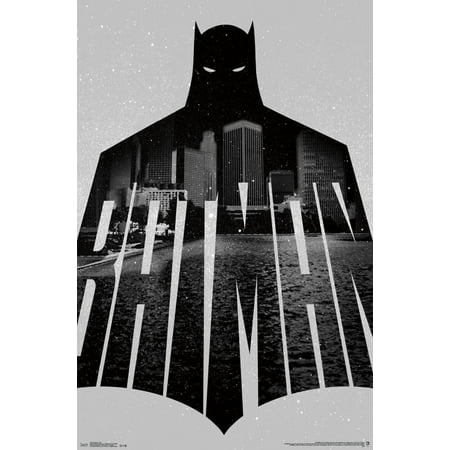 Trends International Batman Text Wall Poster 22.375