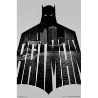 """Trends International Batman Text Wall Poster 22.375"""" x 34"""""""