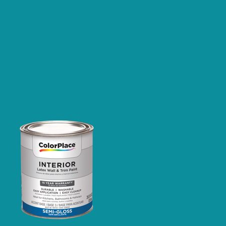 Colorplace Interior Paint Hawaiian Teal 16bg 24 357