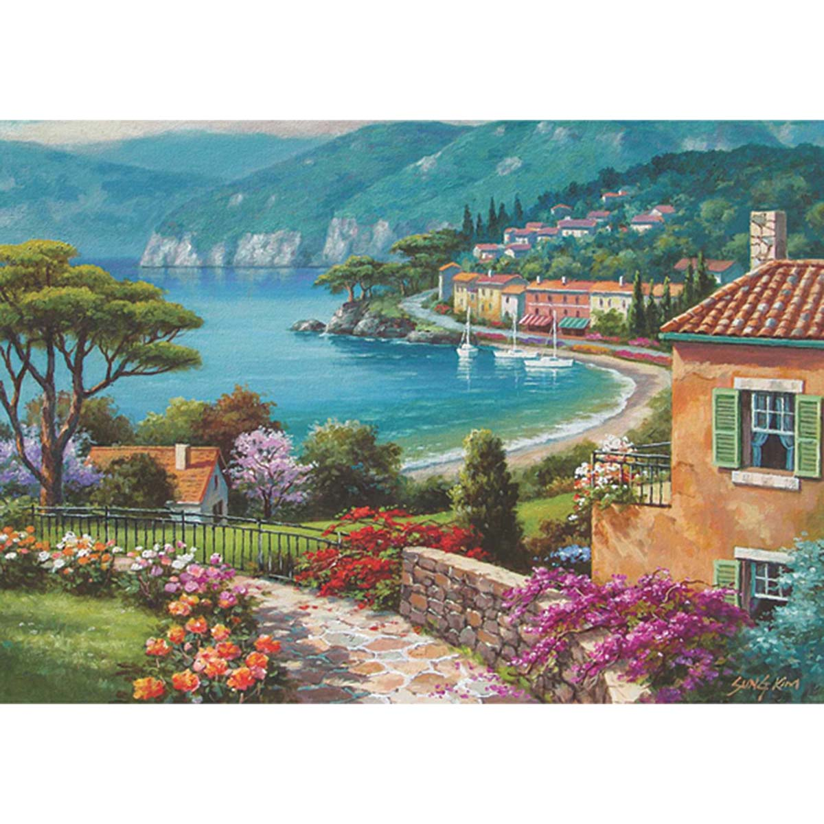 Perre Lakeside Jigsaw Puzzle