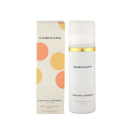 Women Perfumed Shower Gel (CAROLINA by Carolina Herrera 2.5 oz Women's Perfume delicious bath & Shower Mousse New NIB)