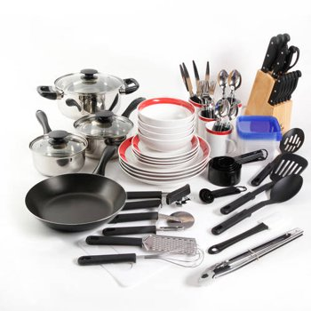 Gibson Home Kitchen In A Box 83-Piece Combo Set