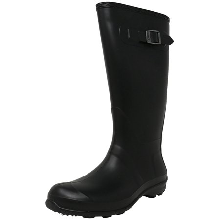 Kamik Rain Boots (Kamik Women's Olivia Black Knee-High Rubber Rain Boot - 7M )