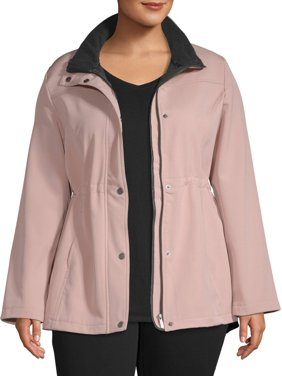 Big Chill Women's Plus Sized Anorak Jacket