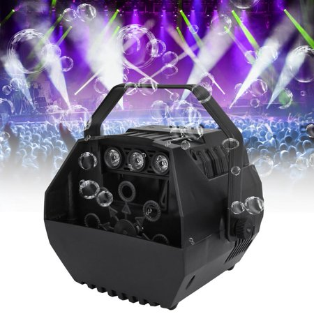 Bubble Maker, Bubble Blowing Machine,15W 100-240V Portable Electric Bubble Blower Blowing Maker Machine DJ Party Club