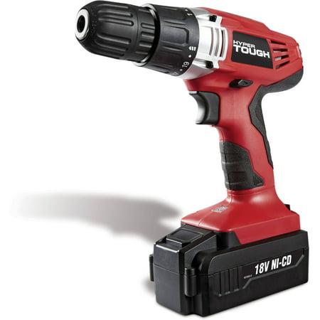 Hyper Tough 18-Volt Ni-Cad Cordless Drill (Hyper Tough 18v Ni Cd Cordless Drill)