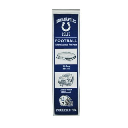 Winning Streak - NFL Evolution Banner, Indianapolis Colts