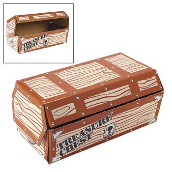 Treasure Chest Box - Awards & Incentives & Assortments, By Oriental Trading Company (Orential Trading)