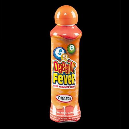 Dabbin' Fever Bingo Daubers - Orange - 3 oz