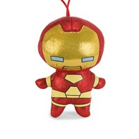 MARVEL Kawaii Metallic Mascot 3.5in Plush Toy - Iron Man