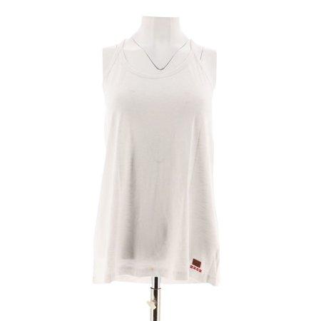 Peace Love World Cotton Slub Knit Camisole Pleated A290281