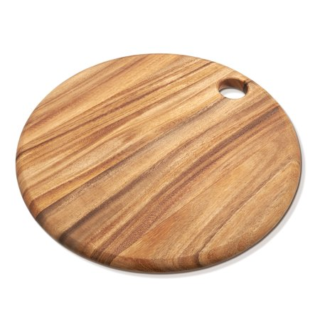 round everyday cutting board acacia wood. Black Bedroom Furniture Sets. Home Design Ideas