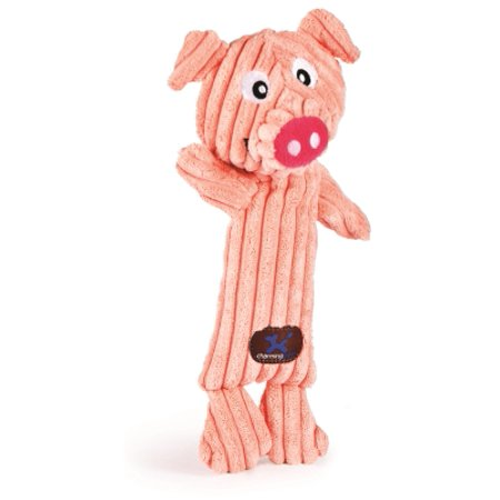 Charming Pet Tennis Heads Squeaker Pig Dog Toy  12 Inch