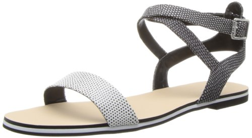 Calvin Klein Women's Carolina Graphic Lizard Dress Sandal by Calvin Klein