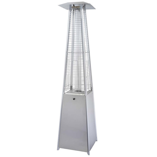 Hiland Stainless Steel Glass Tube Patio Heater by Patio Heaters