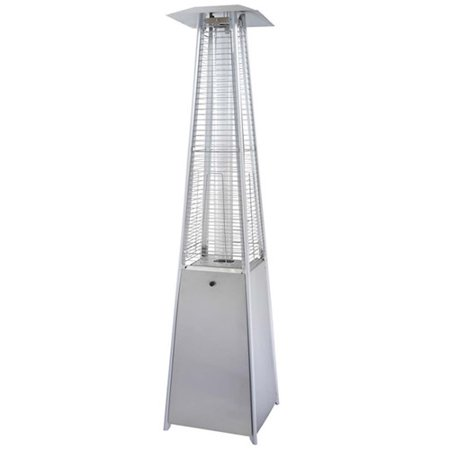 Outdoor Heater - Hiland Stainless Steel Glass Tube Patio Heater
