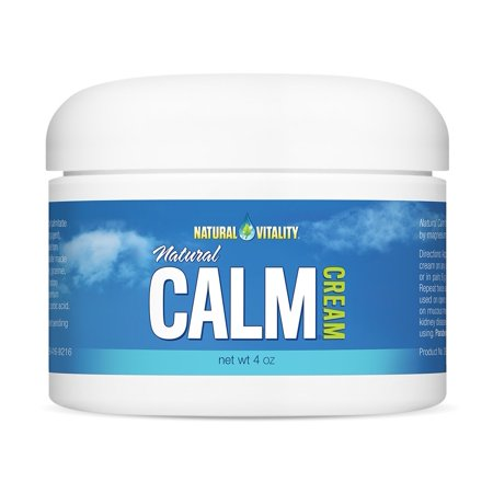 Natural Vitality Natural Calm Magnesium Cream (NC) 4 (Best Magnesium For Heart Health)