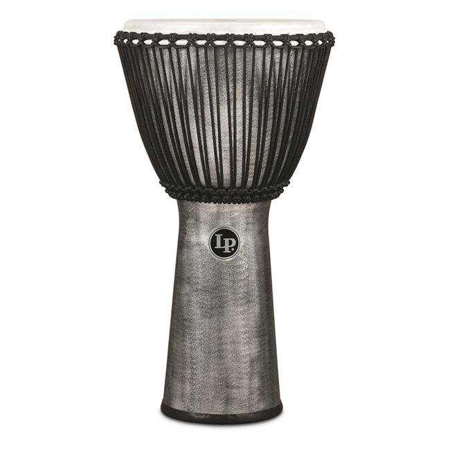 Latin Percussion LP725G Rope Djembe 12.5 in. Synthetic Shell & Head, Gray