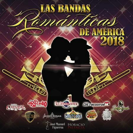 Las Bandas Romanticas De America 2018 (Various Artists)](Halloween Banda De Metal)