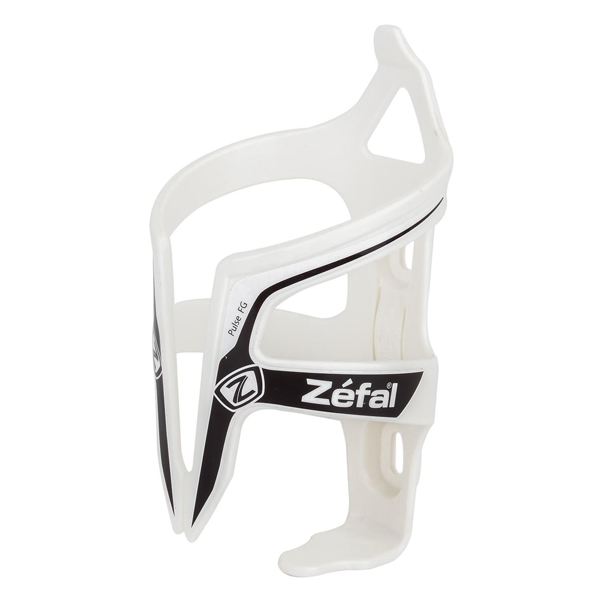 Zefal Water Bottle /& Pulse Fiber Glass Cage Black