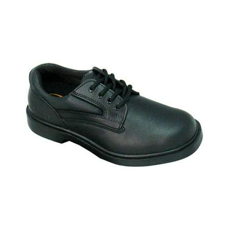 Women's Genuine Grip Footwear Slip-Resistant Steel Toe (Sure Grip Oxford)