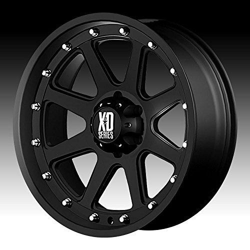 "XD Series by KMC Wheels XD798 Addict Matte Black Wheel (18x9""/6x135mm, +18mm"