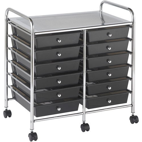 12-Drawer Mobile Organizer