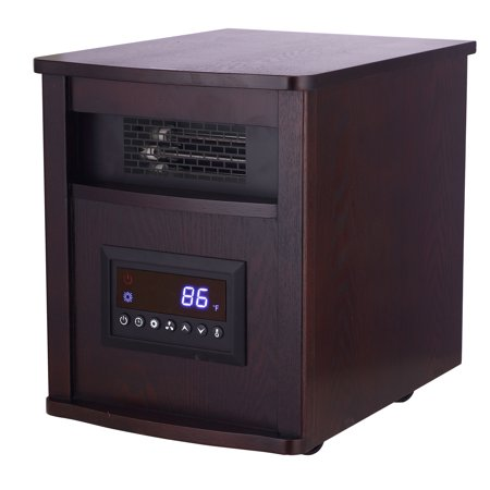 Konwin Gd9315bcw 8j Portable 1500w Wooden Cabinet Infrared
