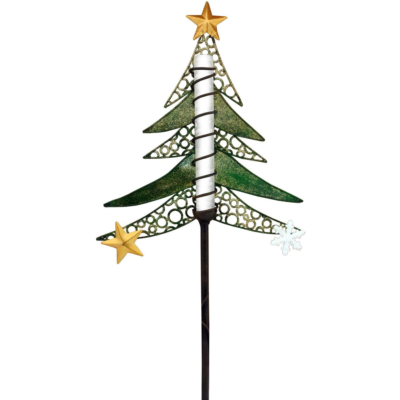 EZ Solar Solar-Powered LED Tree Christmas Stake
