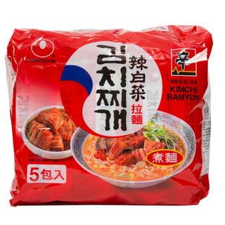 (2 Pack) Kimchi Ramyun Multipak, 16.8 oz (Ray-bun)