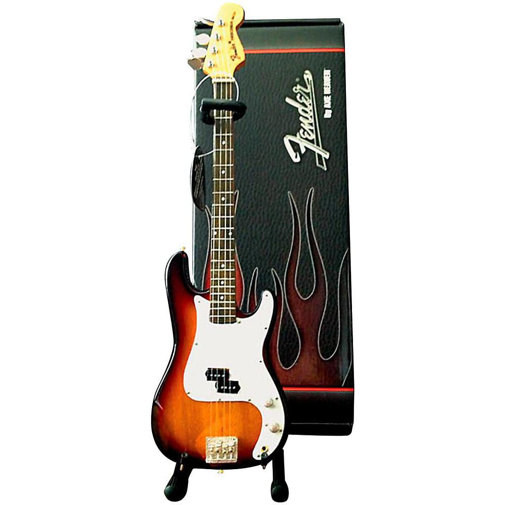 Axe Heaven Fender Precision Bass Sunburst Miniature Guitar Replica Collectible