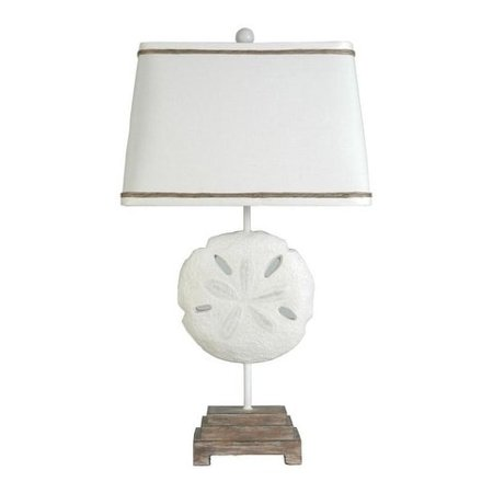 Lamps Per Se 27 75 Inch Sand Dollar Table Lamp Set Of 2 N A