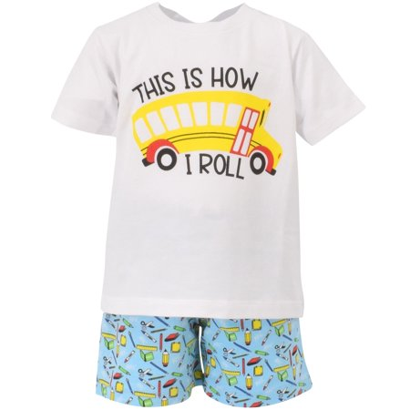 Pretty Back To School Outfits (Boys This is How I Roll School Bus Back to School Outfit)