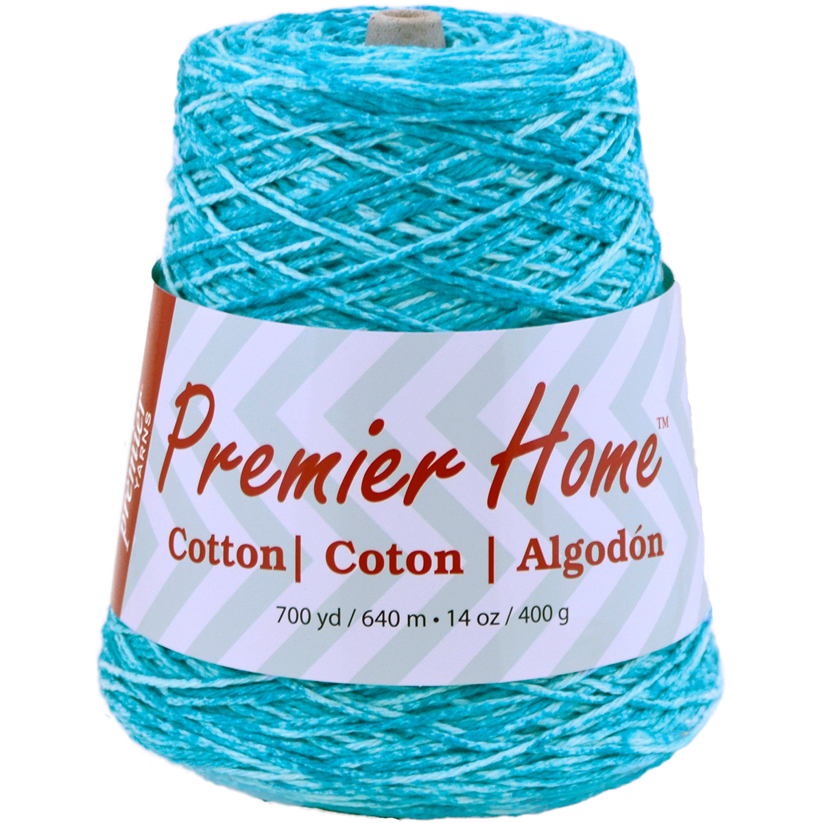 Premier Yarns Home Cotton Yarn - Multi Cone-Ocean Splash