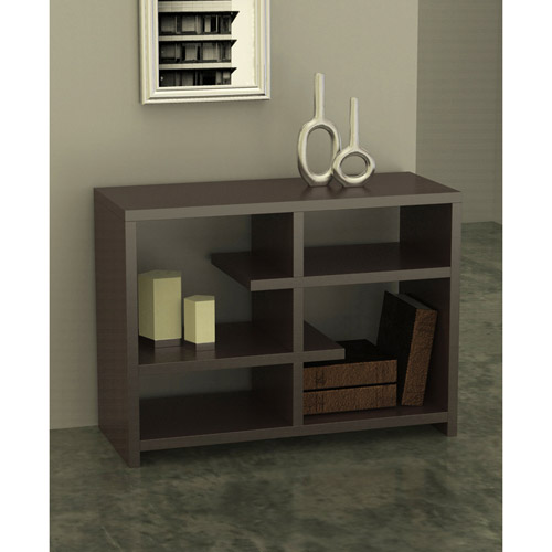 Convenience Concepts Northfield Floating 4-Shelf Console Bookcase, Multiple Colors