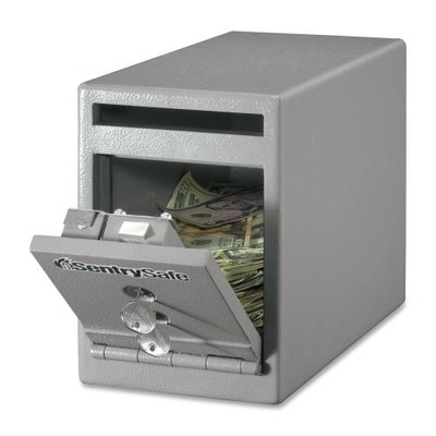 Sentry Safe Dual Key Lock Under Counter Safe SENUC025K