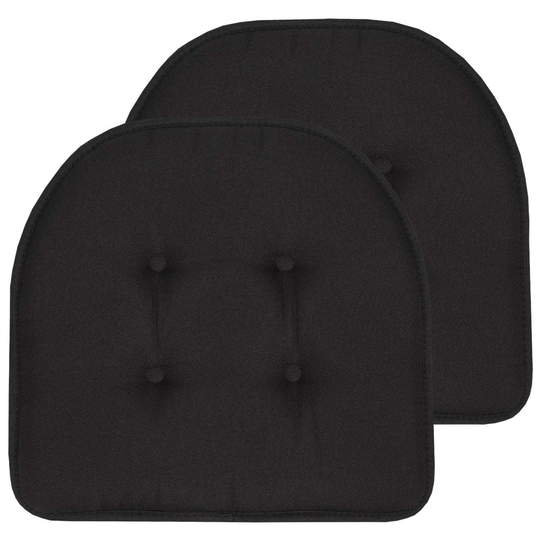 U Shaped Memory Foam Chair Pads 2 Pack, Memory Foam Chair Pad 2 Pack