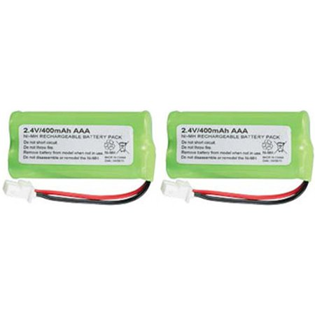 Battery for All Brands BT183342 (2 Pack) Rechargeable Battery ()