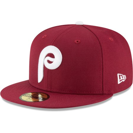 Philadelphia Phillies New Era Cooperstown Collection Wool 59FIFTY Fitted Hat - - Phillies Cooperstown Collection