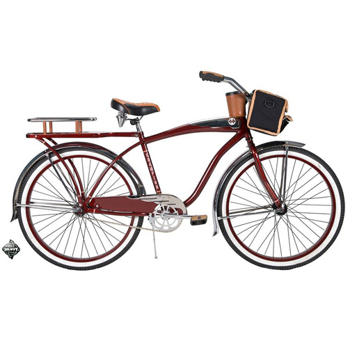 "26"" Huffy Champion Men's Cruiser Bike, Red"