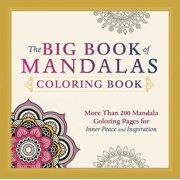 The Big Book of Mandalas Coloring Book (Paperback)