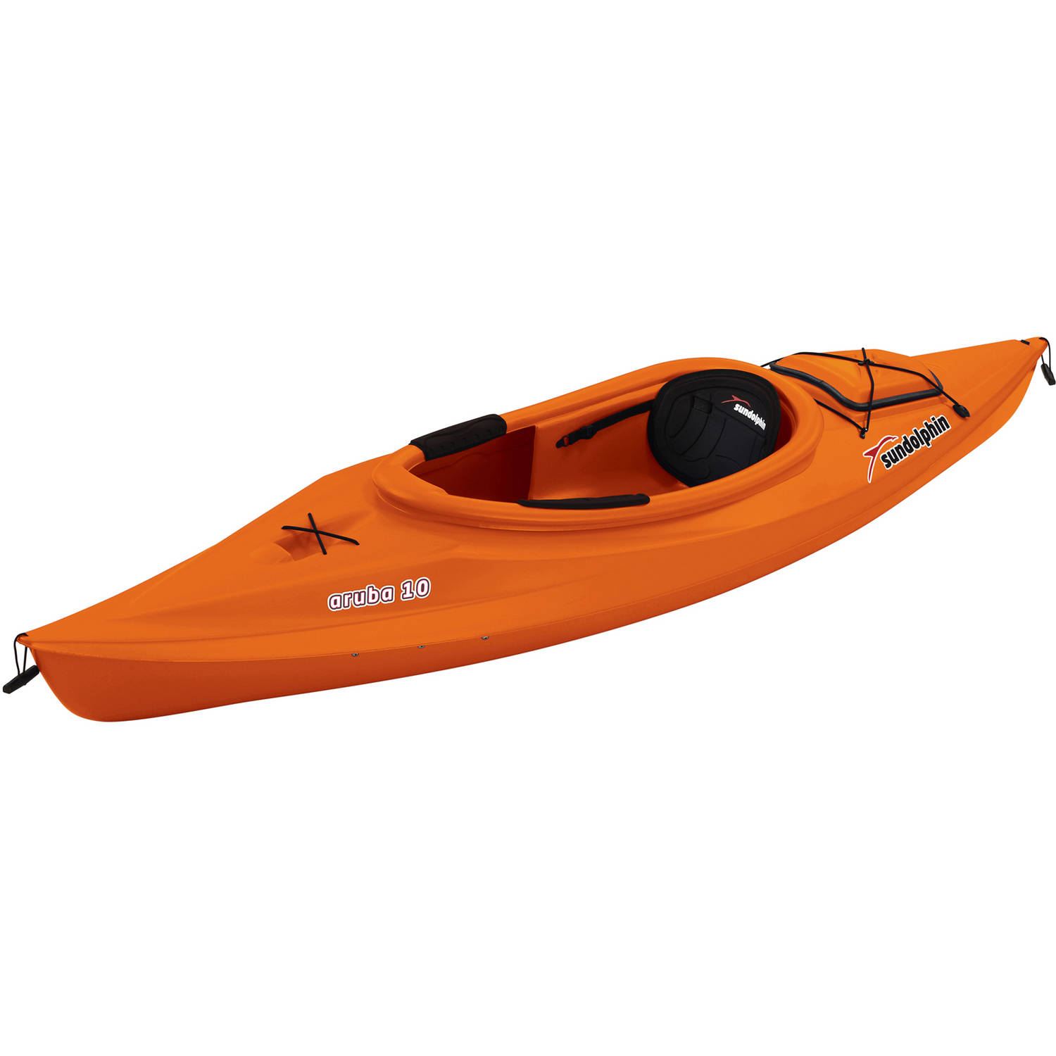 Sun Dolphin Aruba 10' Sit In Kayak, Paddle Included - Walmart.com