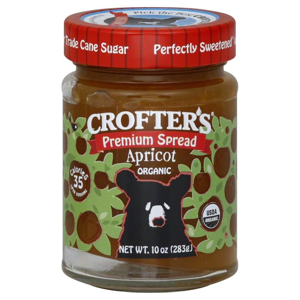 Crofter's Organic - Premium Spread Organic Apricot - 10 Ounce