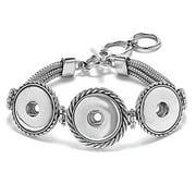 3-Snap Multi-Chain Bracelet SN90-19