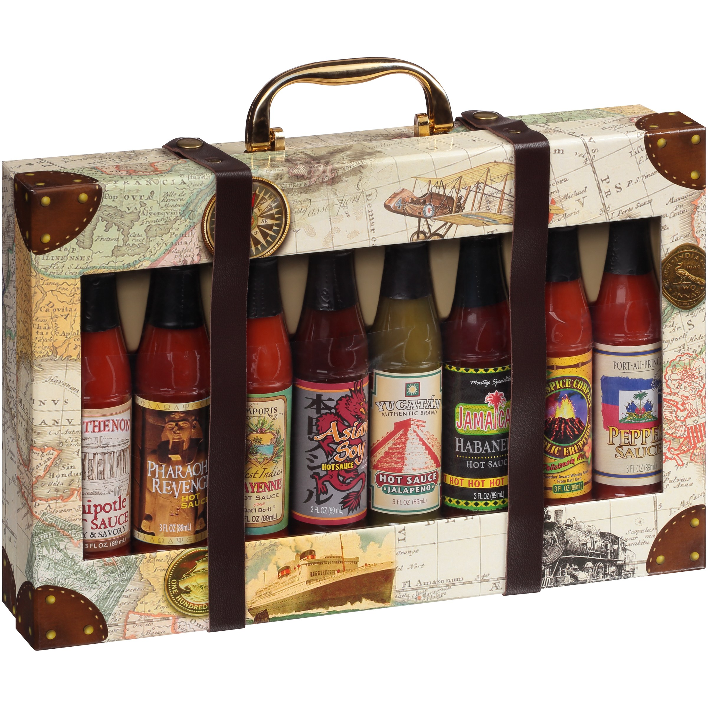 Dat'l Do-It Global Hot Sauce Collection Gift Set 24 fl. oz. Box