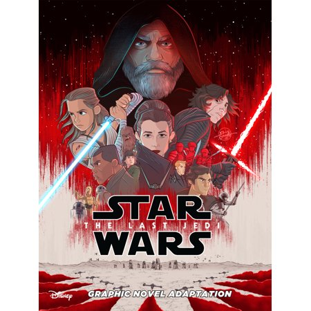 Star Wars: The Last Jedi Graphic Novel Adaptation (Star Wars The Last Jedi Novel Release Date)