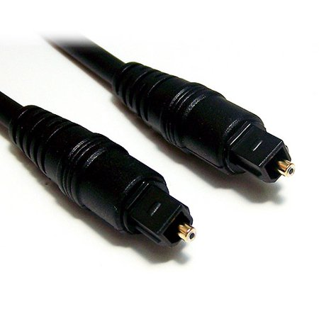 Micro Connectors 25′ TOSLINK Digital Optical Cable